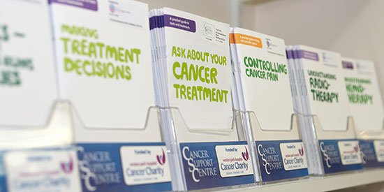 cancer support leaflets